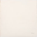 "Music Memorabilia:Recordings, The Beatles (""The White Album"") John Lennon Signed and Low-Numbered ""A0000011"" LP Cover (Apple SWBO 101, 1968)...."