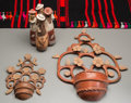 Pre-Columbian:Ceramics, Four Contemporary Latin American Items... (Total: 4 Items)