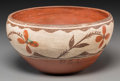 American Indian Art:Pottery, A Zia Polychrome Bowl...