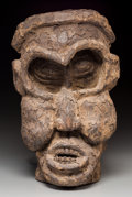 "Tribal Art, Bangwa People, Cameroon Grasslands: An Important Janus NightSociety ""Mask""..."