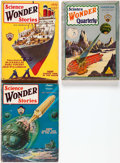 Pulps:Science Fiction, Science Wonder Stories Group of 3 (Stellar Publishing, 1929-30)....(Total: 3 Items)