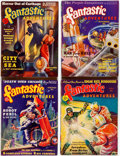 Pulps:Science Fiction, Fantastic Adventures Group of 6 (Ziff-Davis, 1939-40) Condition:Average VG.... (Total: 6 Items)