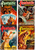 Pulps:Science Fiction, Fantastic Adventures Group of 9 (Ziff-Davis, 1947-53) Condition:Average GD/VG.... (Total: 9 Items)