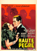 "Movie Posters:Comedy, Trouble in Paradise (Paramount, 1932). Pre-War Belgian (24"" X33.5"").. ..."