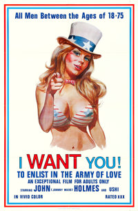"""I Want You! (Carroll Pictures, 1970). One Sheet (23"""" X 35"""")"""