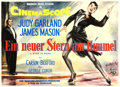 "Movie Posters:Musical, A Star is Born (Warner Brothers, 1954). Horizontal German A0 (33"" X48.5"") Hans Otto Wendt Artwork.. ..."