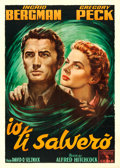 "Movie Posters:Hitchcock, Spellbound (Columbia, R-1954). Italian 2 - Fogli (39.25"" X 55"")Anselmo Ballester Artwork.. ..."