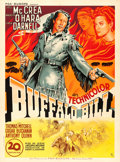 "Movie Posters:Western, Buffalo Bill (20th Century Fox, 1947). First Post-War ReleaseFrench Grande (47"" X 63.75"").. ..."