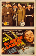"Movie Posters:Mystery, Mr. Moto's Gamble (20th Century Fox, 1938). Title Lobby Card &Lobby Card (11"" X 14"").. ... (Total: 2 Items)"