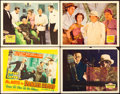 "Movie Posters:Mystery, Mr. Moto in Danger Island & Others Lot (20th Century Fox,1939). Title Lobby Card & Lobby Cards (3)(11"" X 14"").. ...(Total: 4 Items)"