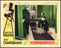 "Movie Posters:Comedy, The Cameraman (MGM, 1928). Lobby Card (11"" X 14"").. ..."