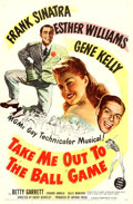 "Movie Posters:Musical, Take Me Out to the Ball Game (MGM, 1949). One Sheet (27"" X 41"")....."