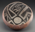American Indian Art:Pottery, A Gila Polychrome Bowl . c. 1300 - 1450...