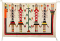 American Indian Art:Weavings, A Navajo Yei Rug. ...