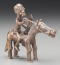 Tribal Art, An Akan Equestrian Figure...