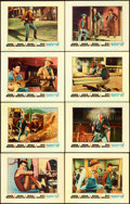 """Movie Posters:Western, Rio Bravo (Warner Brothers, 1959). Lobby Card Set of 8 (11"""" X 14"""").. ... (Total: 8 Items)"""