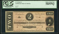 Confederate Notes:1864 Issues, T70 $2 1864 PF-3 Cr. 570.. ...