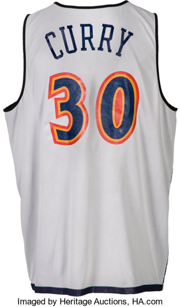 new product efdec 1caf4 2009 Stephen Curry NBA Summer League Opening Game Worn ...