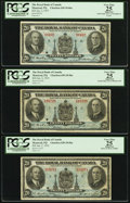 World Currency: , Montreal, PQ- The Royal Bank of Canada $20 Jan. 2, 1935 Ch. # 630-18-06a Three Examples.. ... (Total: 3 notes)