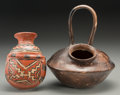 Pre-Columbian:Ceramics, Two Chupicuaro Vessels... (Total: 2 Items)