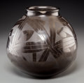 American Indian Art:Pottery, A Mexican Blackware Olla...