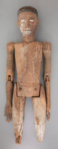 "Tribal Art, ""Tao Tao"" Ancestral Figure: Torajah, Indonesia... (Total: 11 Items)"