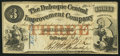 Obsoletes By State:Iowa, Dubuque, IA- Dubuque Central Improvement Company $1 Feb. 27, 1858. ...