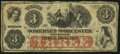 Obsoletes By State:Maryland, Salisbury, MD- Somerset and Worcester Savings Bank $3 Nov. 1, 1862. ...