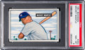 Baseball Cards:Singles (1950-1959), 1951 Bowman Mickey Mantle Rookie #253 PSA NM-MT 8....