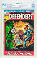 Bronze Age (1970-1979):Superhero, The Defenders #1 (Marvel, 1972) CBCS NM+ 9.6 White pages....