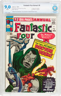 Silver Age (1956-1969):Superhero, Fantastic Four Annual #2 (Marvel, 1964) CBCS VF/NM 9.0 White pages....