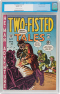 Golden Age (1938-1955):War, Two-Fisted Tales #19 Gaines File Pedigree 2/10 (EC, 1951) CGC NM/MT 9.8 Off-white to white pages....