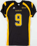 Football Collectibles:Uniforms, Everson Walls Signed and Inscribed Grambling Tigers Jersey....