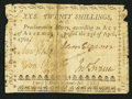 Colonial Notes:North Carolina, North Carolina April 23, 1761 20s Good-Very Good.. ...