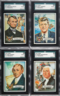 "Non-Sport Cards:Sets, 1972 Topps ""U.S. Presidents"" Complete Set (43). ..."