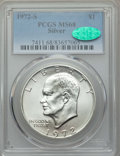 Eisenhower Dollars, 1972-S $1 Silver MS68 PCGS. CAC. PCGS Population: (1908/24). NGC Census: (452/5). Mintage 2,193,056....