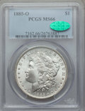 1885-O $1 MS66 PCGS. CAC. PCGS Population: (2852/358). NGC Census: (4717/586). CDN: $190 Whsle. Bid for problem-free NGC...