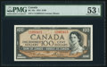 Canadian Currency: , Canada BC-43c $100 1954.. ...