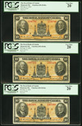 Canadian Currency: , Montreal, PQ- The Royal Bank of Canada $10 Jan. 2, 1935 Ch. #630-18-04a Three Examples.. ... (Total: 3 notes)