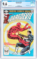 Modern Age (1980-Present):Superhero, Daredevil #183 (Marvel, 1982) CGC NM+ 9.6 White pages....