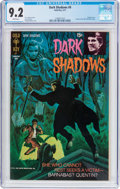 Bronze Age (1970-1979):Horror, Dark Shadows #9 (Gold Key, 1971) CGC NM- 9.2 White pages....