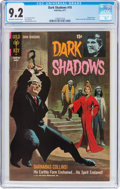 Bronze Age (1970-1979):Horror, Dark Shadows #10 (Gold Key, 1971) CGC NM- 9.2 Off-white to whitepages....