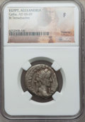 Ancients:Roman Provincial , Ancients: EGYPT. Alexandria. Galba (AD 68-69). BI tetradrachm. NGCFine....