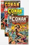 Bronze Age (1970-1979):Adventure, Conan the Barbarian Group of 13 (Marvel, 1970-72) Condition: Average VG.... (Total: 13 Comic Books)