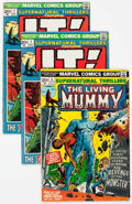 Bronze Age (1970-1979):Horror, Supernatural Thrillers #1-15 Complete Series Group (Marvel,1972-75) Condition: Average FN.... (Total: 21 Comic Books)