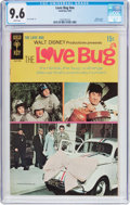 Silver Age (1956-1969):Humor, Movie Comics: The Love Bug (Gold Key, 1969) CGC NM+ 9.6 White pages....