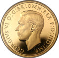 Great Britain, Great Britain: George VI gold Proof 5 Pounds 1937 PR66 Ultra CameoNGC,...