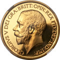 Great Britain, Great Britain: George V gold Proof 5 Pounds 1911 PR65 Cameo NGC,...
