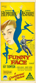 "Movie Posters:Romance, Funny Face (Paramount, 1957). Australian Daybill (13"" X 30"").. ..."