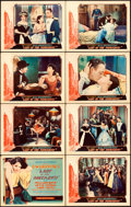 "Movie Posters:Drama, Lady of the Pavements (United Artists, 1929). Lobby Card Set of 8(11"" X 14"").. ... (Total: 8 Items)"